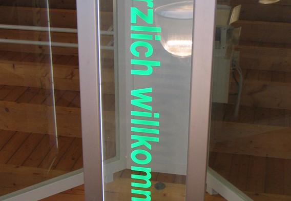 Acrylglasschild