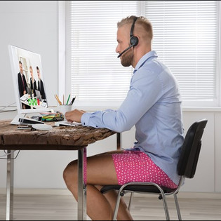 Business Attire in the Time of Zoom Meetings: How Should I Dress?