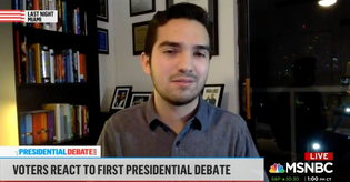 Barry Student Featured on MSNBC, Now Questioning Joe Biden