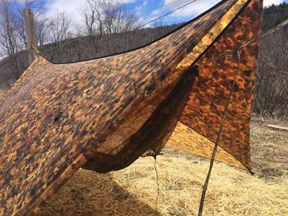 UGQ Winter Dream Tarp - Fallen Leaves