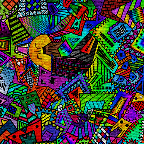 Coloring Book - Texture