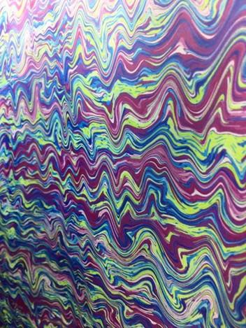 Crazy Waves Print