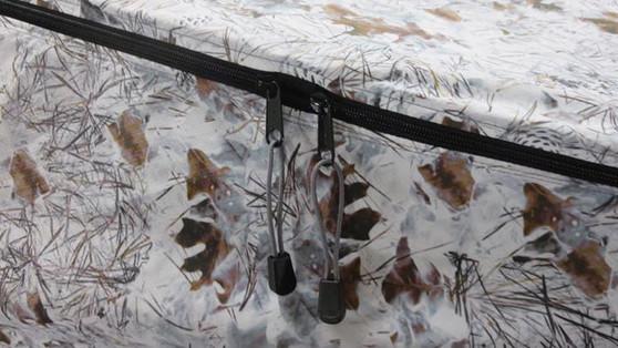 Forest Floor Winter - Dream Hammock Sparrow.