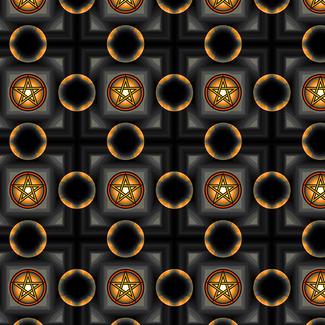 Pentacles - Black