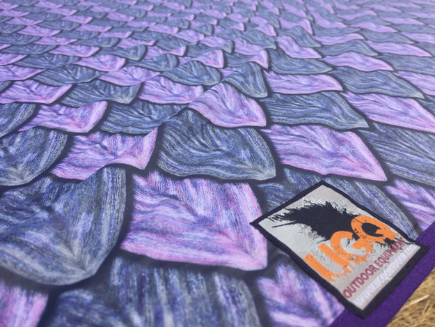UGQ Outdoors Tarp - Dragon Scales