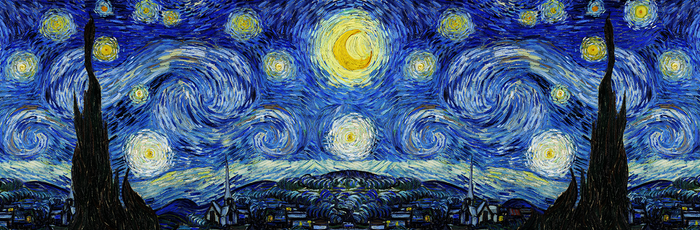 Starry Night - 5 yard