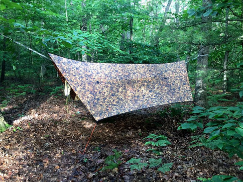 UGQ Tarp - Fallen Leaves