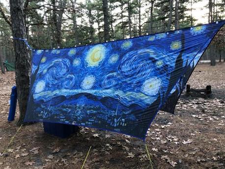 UGQ Hex Tarp - Starry Night