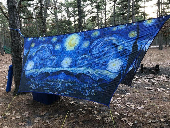 UGQ Hex Tarp - Starry Night