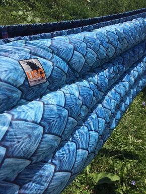 UGQ Zepplin Underquilt in Dragon Scales