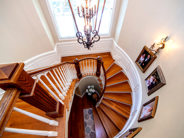 Staircase from second floor