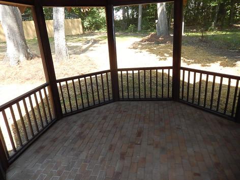 Interior Screen Porch