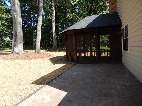 10x20 brick patio