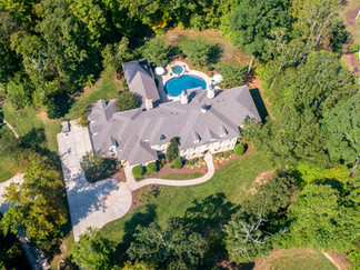 Arial View of Home