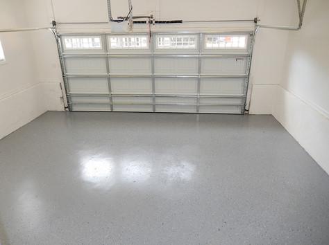 Painted Garage floor