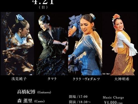 2019/4/21(日)赤坂ノヴェンバー・イレブンス