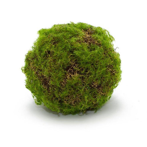 """Faux Moss Covered Orb (4"""")"""
