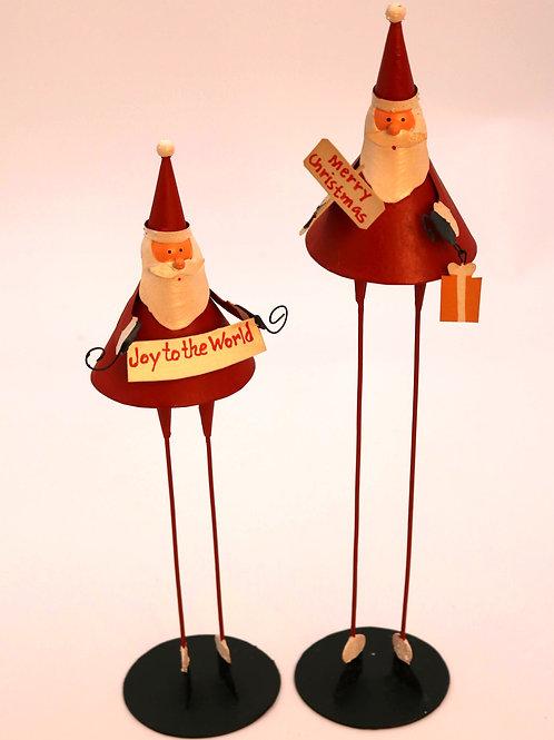 Santa Skinny Legs Set
