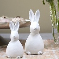 Ceramic Bunny Set
