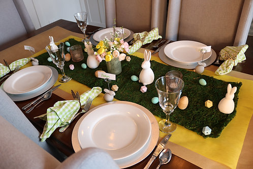 Spring For it Easter Table
