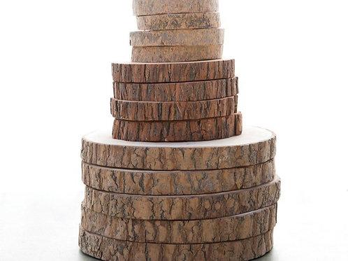 Wood Round Set of 2