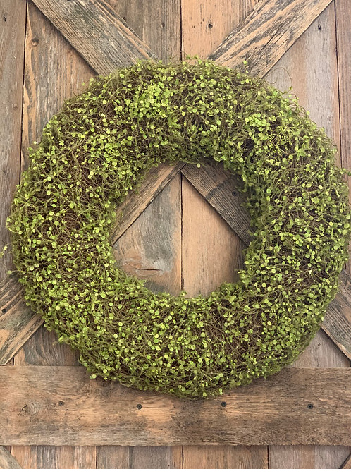 Creeping Wire Vine Wreath