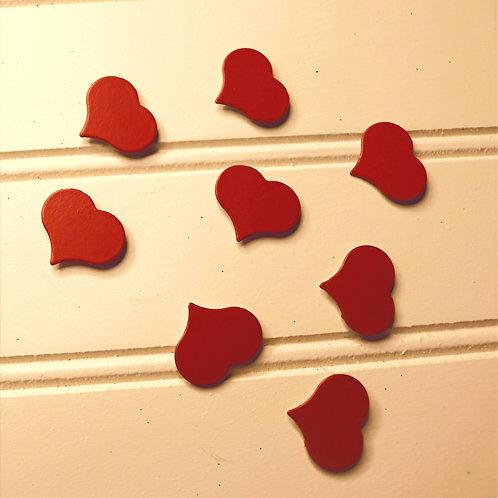 Set of Heart Magnets (7)