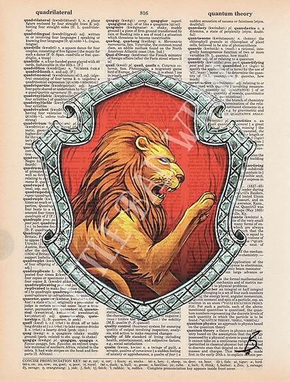Gryffindor Shield