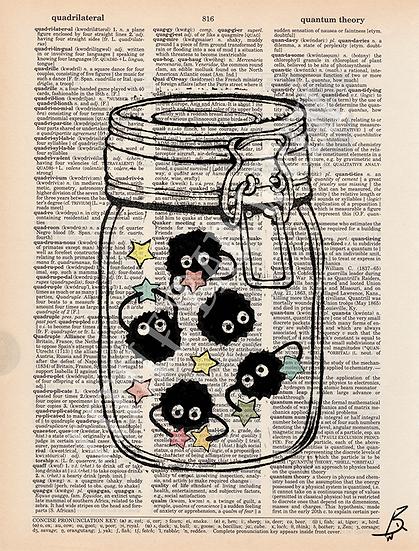 Jar of Soot Sprites