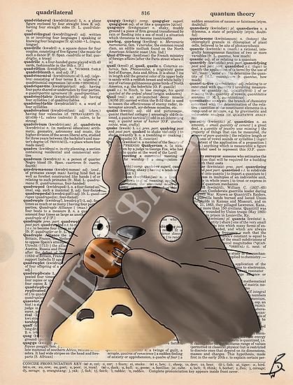 Totoro Playing Ocarina