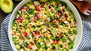 Avocado and Grilled Chicken Salad