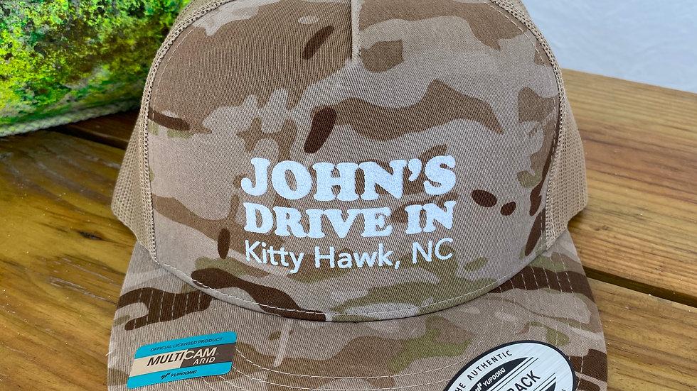 John's Trucker Hat Camo