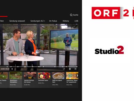 ORF Studio 2 berichtet live aus dem Klosterwald Kirchberg am Wechsel