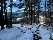 Kirchberg am Wechsel im Winter