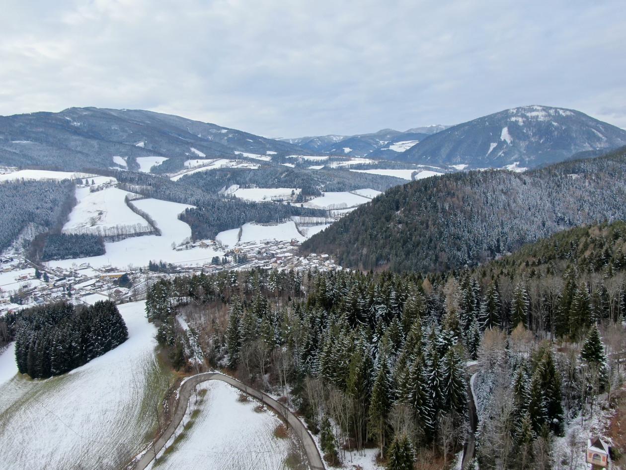 Klosterwald Blick Steiermark