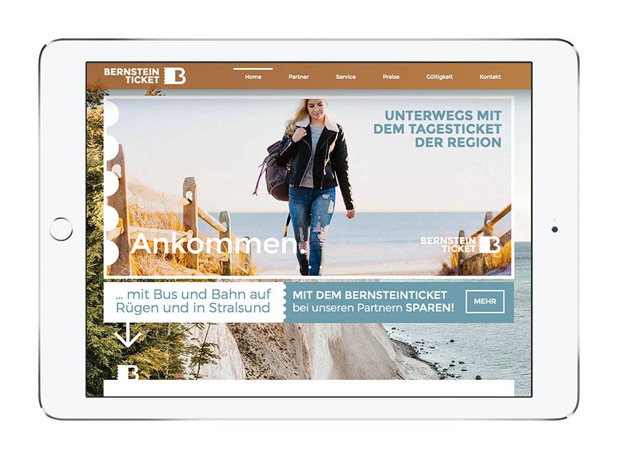 Webdesign bernsteinticket.com