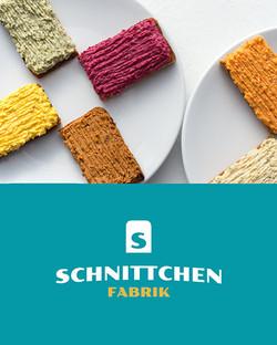 Logodesign Schnittchenfabrik