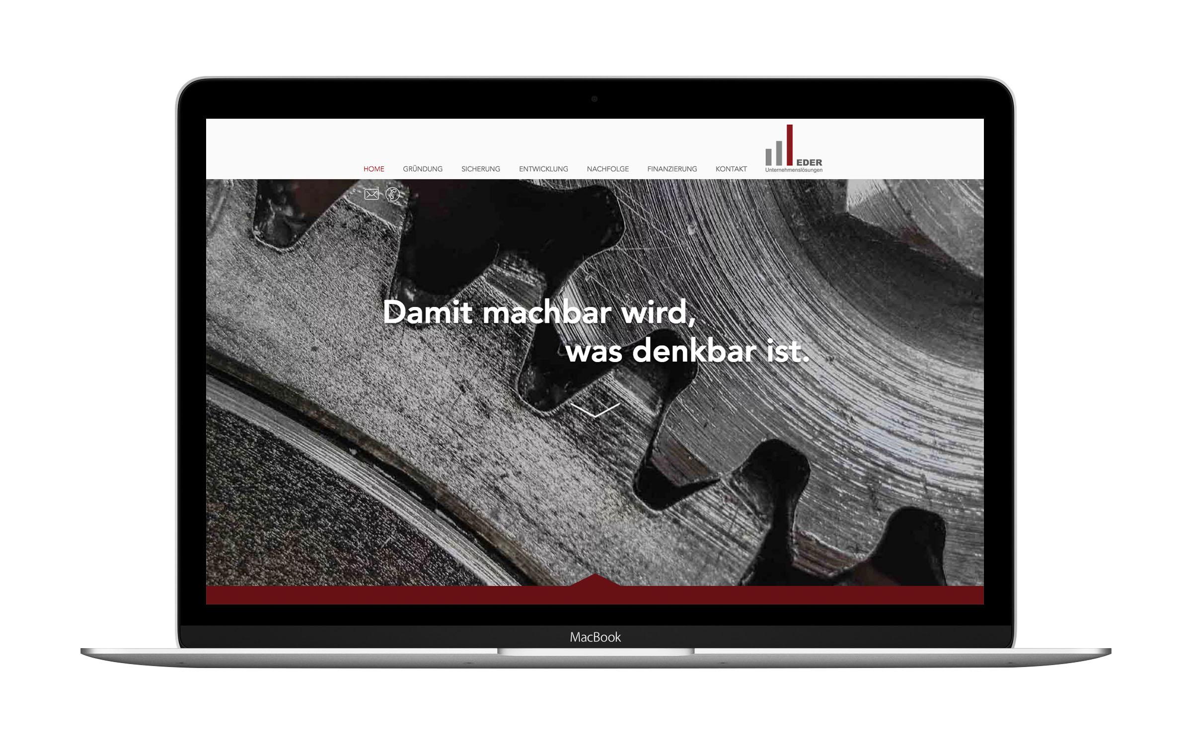 Webdesign für Eder24