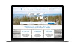 """Webdesign Ferienhäuser """"Fischerhütte"""