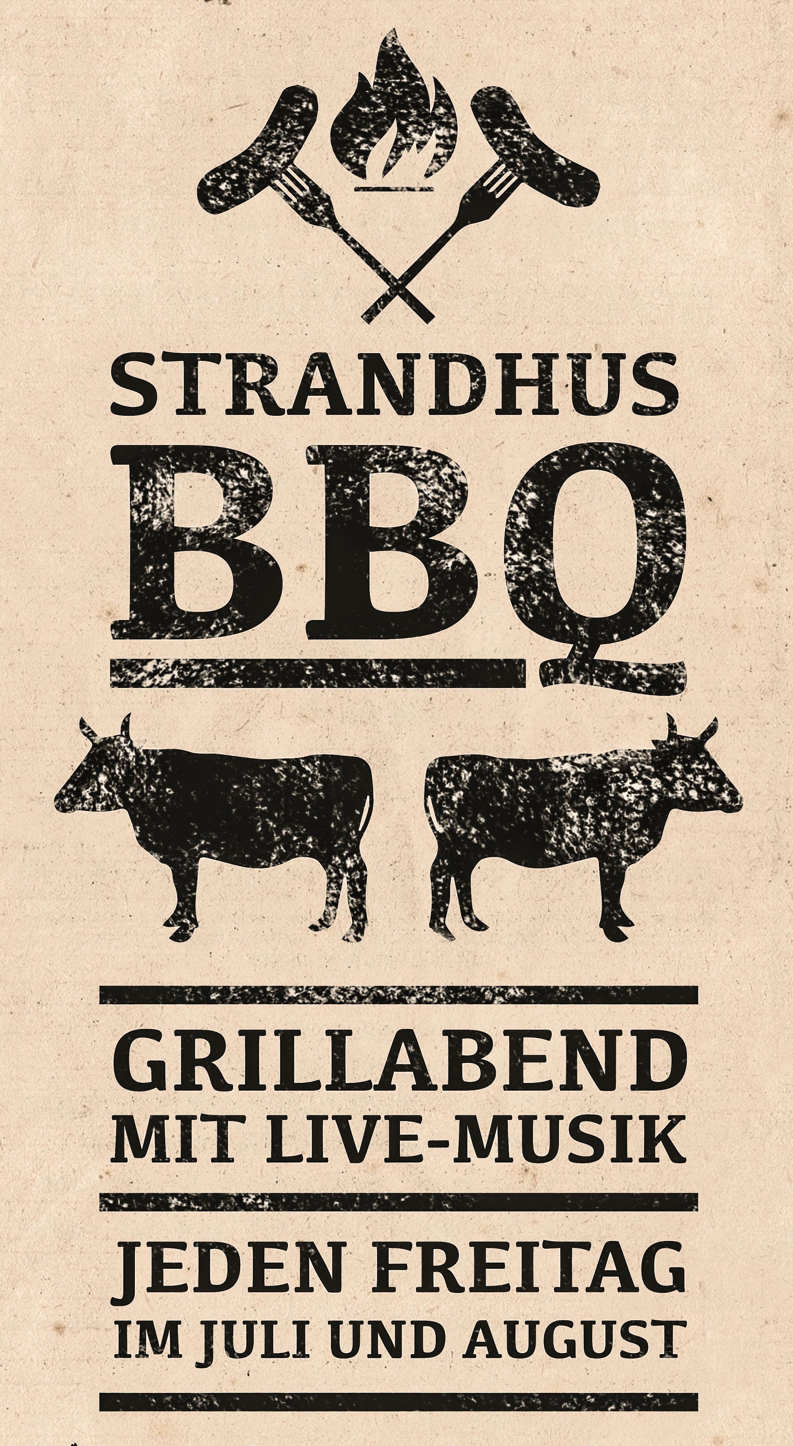 BBQ Plakatdesign