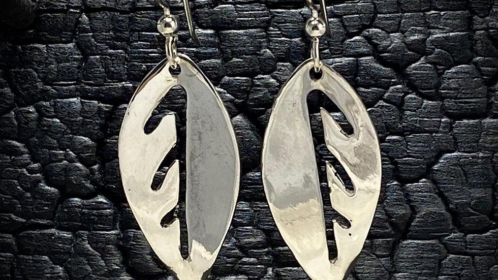 Magnolia Leaf Earrings
