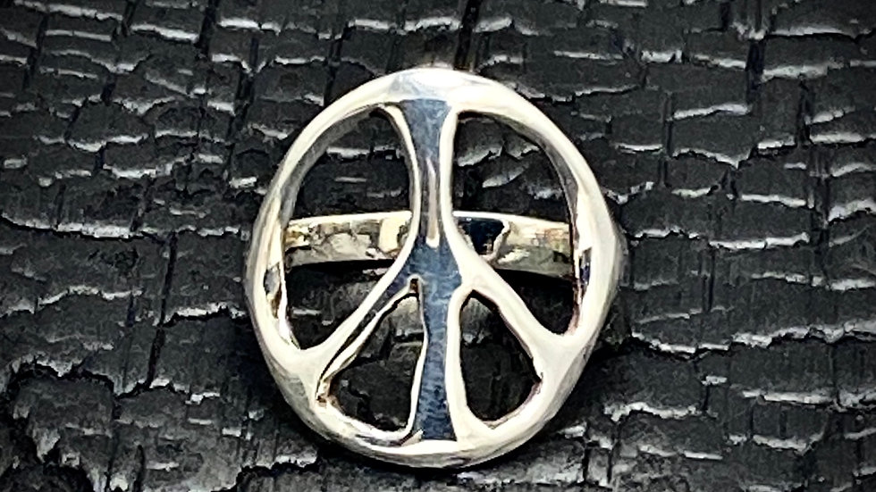 Large Peace Ring