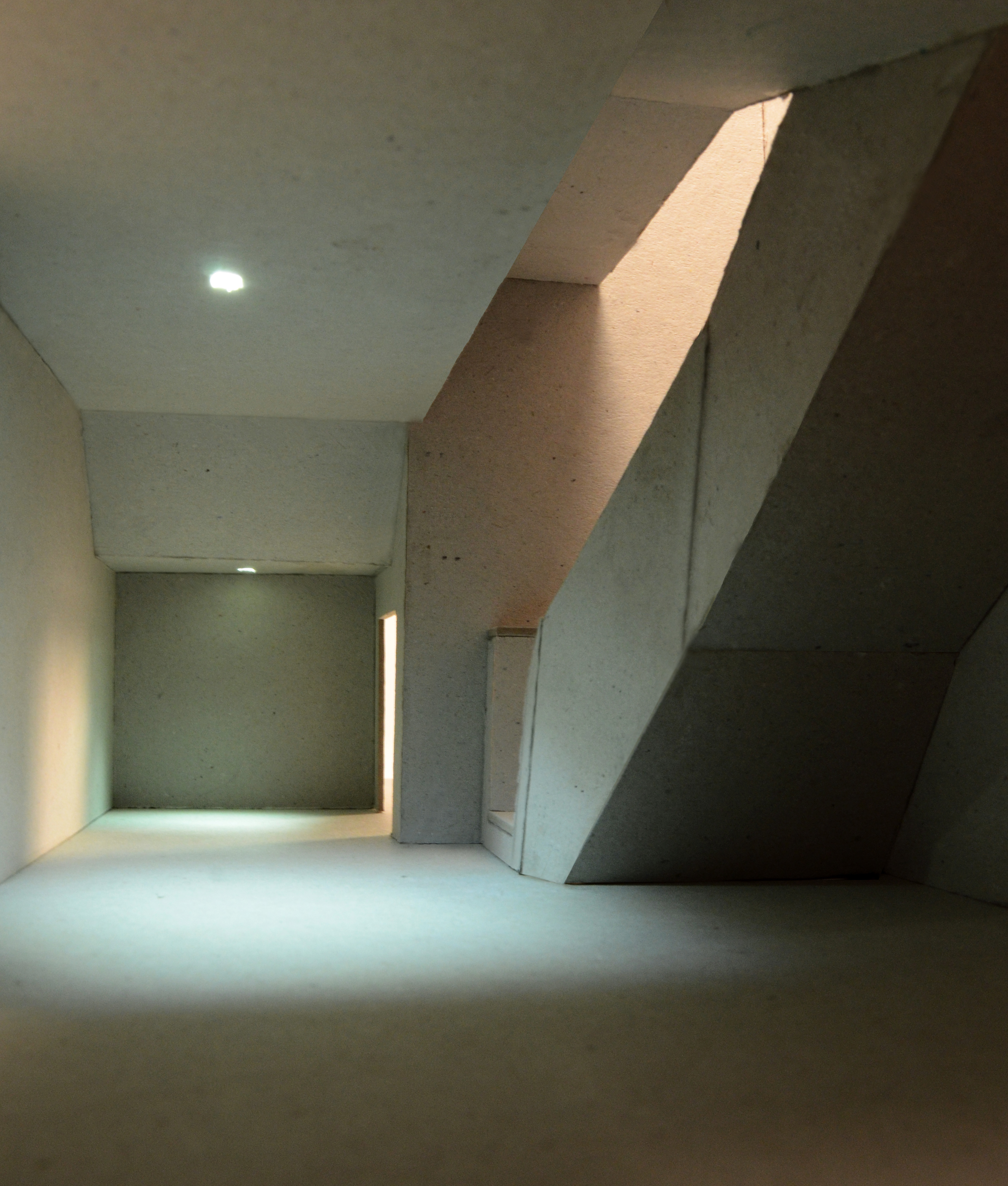 Modellbau nach einem Architektur-Fot