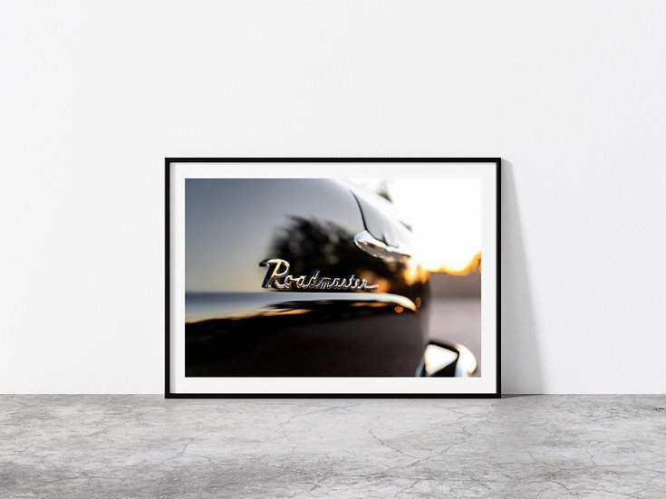 Print Nº 17 - Buick Roadmaster Emblem