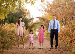Family Portrait Session | The Bows