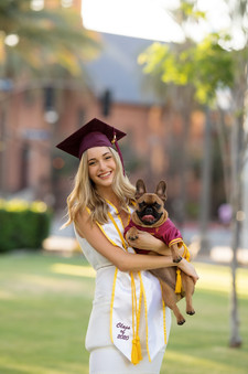 ASU Grad & her puppy