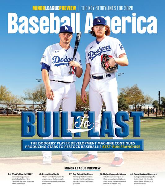 Baseball America Cover Shoot