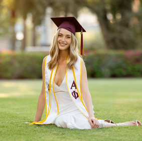 Hire a Photographer Who Will Capture a Unique Look | ASU Graduation Session