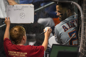 Sign my baseball?