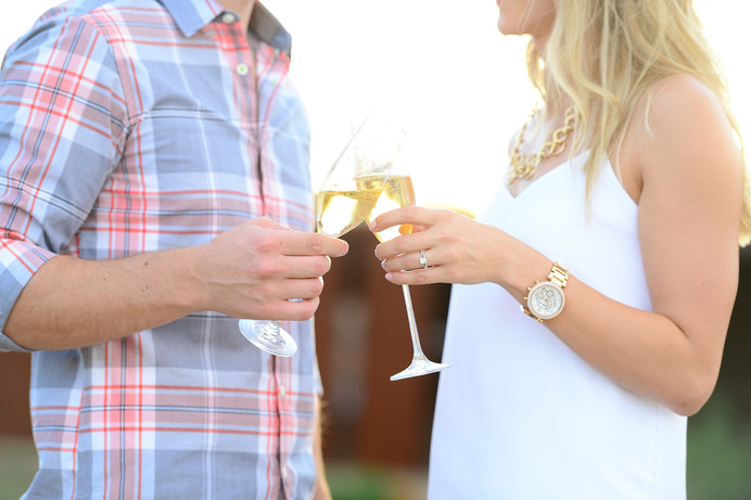 Cheers to Mr & Mrs